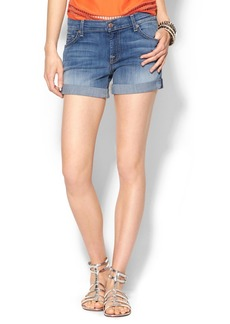 7 For All Mankind Mid Roll Up Short