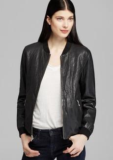Marc New York Jacket - Vicki Varsity Leather Bomber