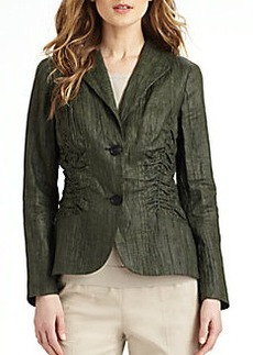 Lafayette 148 New York Leonora Ruched Jacket