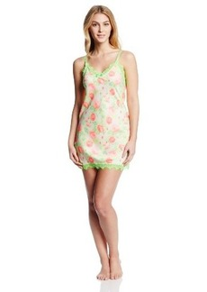 Betsey Johnson Women's Silky Luxe Slip