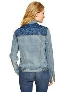 1969 bandana denim jacket