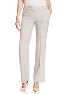 Anne Klein Women's Petite Striped Modern Suit Pant
