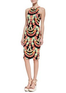 Mara Hoffman Garlands Print Sleeveless Sheath Dress