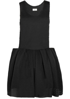 Lanvin Pleated mesh dress