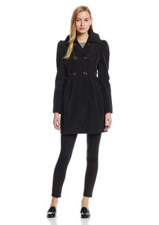 Kenneth Cole New York Women's Double-Breasted Trench Coat