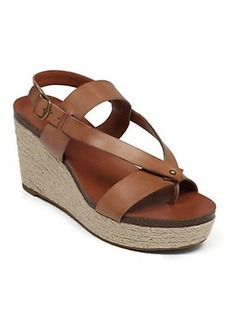 NATURALE LEATHER WEDGE