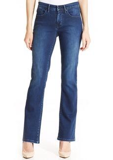 Calvin Klein Jeans Curvy-Fit Bootcut Jeans, Secret Wash