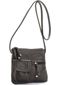 Tignanello Handbag, Multi Pocket Organizer Leather Crossbody