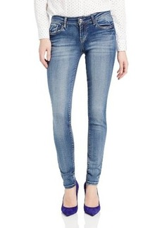 Kensie Jeans Women's Bleach-Denim Wash Skinny Jean