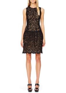 Michael Kors Drop-Waist Lace Dress