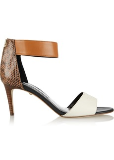 Diane von Furstenberg Kinder color-block leather sandals