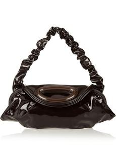 Marni Patent-leather large shoulder bag