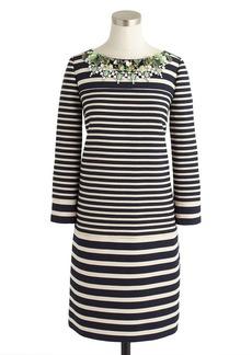 Collection stripe paillette dress