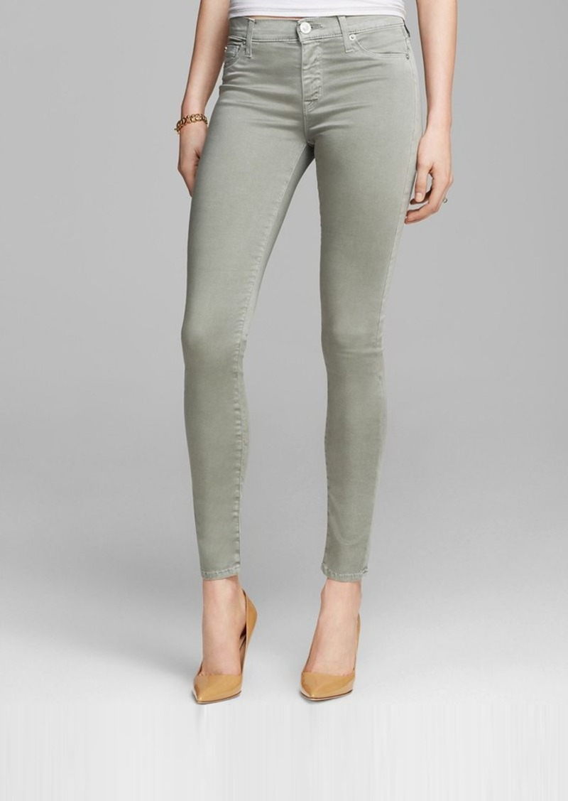 Hudson Jeans - Nico Super Skinny in Washed Forest