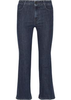 Stella McCartney Chloe cropped wide-leg jeans