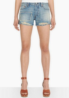 Levi's® Juniors' 501 Destroyed Shorts