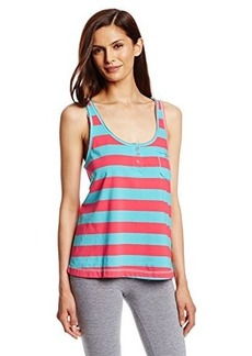 Tommy Hilfiger Women's Reverse Printed T-Strap Pajama Tank