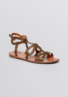 Via Spiga Flat Gladiator Sandals - Donnie