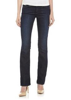 AG Adriano Goldschmied Slim Boot-Cut Dark-Wash Jeans