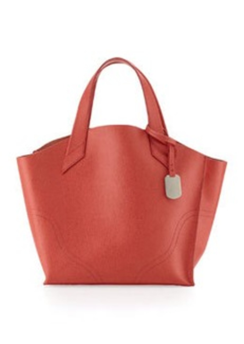 furla furla jucca small saffiano tote bag speed handbags shop it to me. Black Bedroom Furniture Sets. Home Design Ideas