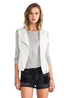 Sanctuary City Vegan Vest in Gray