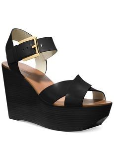 MICHAEL Michael Kors Peggy Platform Wedge Sandals