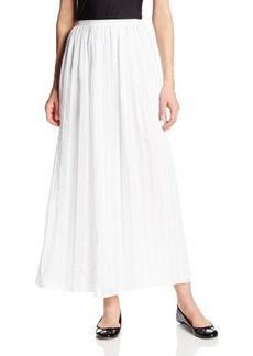 Calvin Klein Women's Pintuck Maxi Skirt
