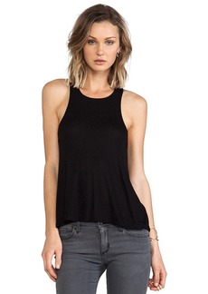 Rachel Pally Rib Taline Top in Black