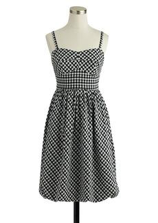 Gingham bubble dress