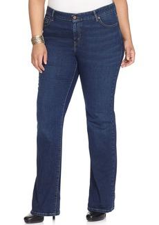 Levi's® Plus Size 590 Fuller Waist Bootcut Jeans, Denim Belief Wash