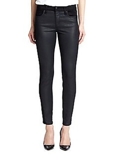 Joe's Coated-Front Skinny Jeans