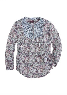 Liberty peasant top in Molly floral