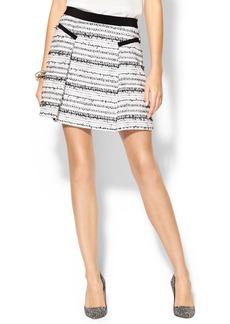 Rebecca Taylor Raffia Tweed Skirt
