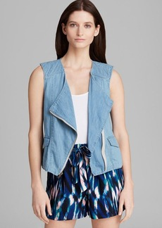 Sanctuary Denim Zip Vest