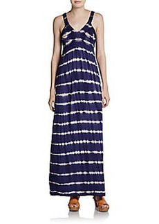 Design History Tie-Dye Jersey Maxi Dress
