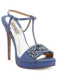 Badgley Mischka Amara Platform Evening Sandals