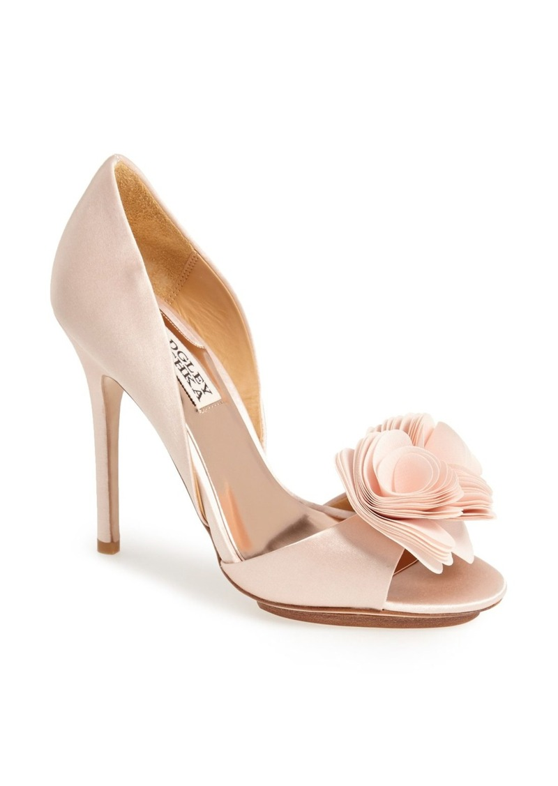 Light Pink Open Toe Workout Shoes