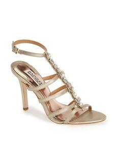 Badgley Mischka 'Elect' Crystal Embellished Sandal (Women)