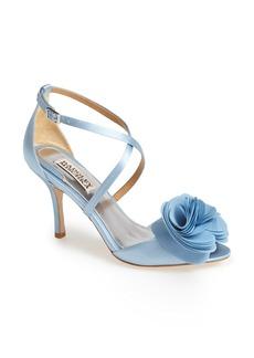 Badgley Mischka 'Gaby' Satin Sandal (Women)