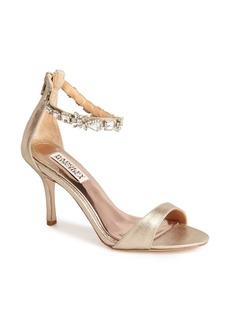 Badgley Mischka 'Giles II' Leather Sandal (Women)