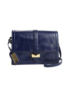 Badgley Mischka ink leather 'Lena' convertible satchel