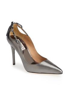 Badgley Mischka 'Jewel II' Metallic Leather Pump (Women)