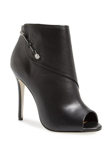 Badgley Mischka 'Julesa' Peep Toe Ankle Bootie (Women)