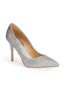 Badgley Mischka 'Luster' Pointy Toe Pump (Women)