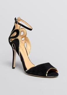 Badgley Mischka Open Toe Ankle Strap Sandals - Franki High Heel