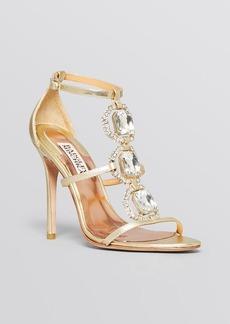 Badgley Mischka Open Toe Evening Sandals - Harvey High Heel
