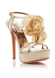 Badgley Mischka Open Toe Platform Sandals - Flora High Heel