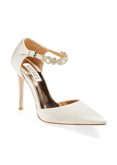 Badgley Mischka'Pia' Ankle StrapPump (Women)