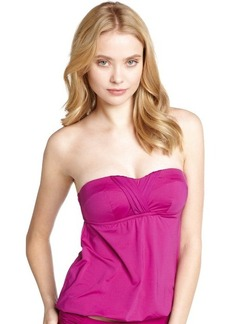 Badgley Mischka plum bandini halter top