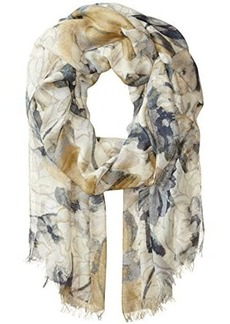 BADGLEY MISCHKA Women's Mirror Floral Print Scarf